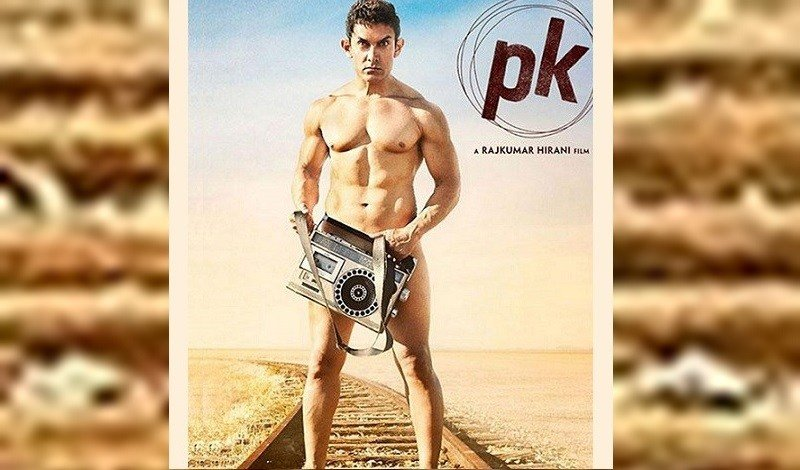 Aamir Khan Nude poster for PK