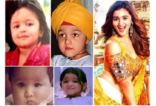Alia Bhatt as a Kid