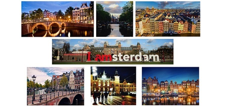 Amsterdam tourism and film shoots