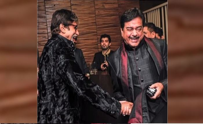 Shatrughan Sinha and Big B