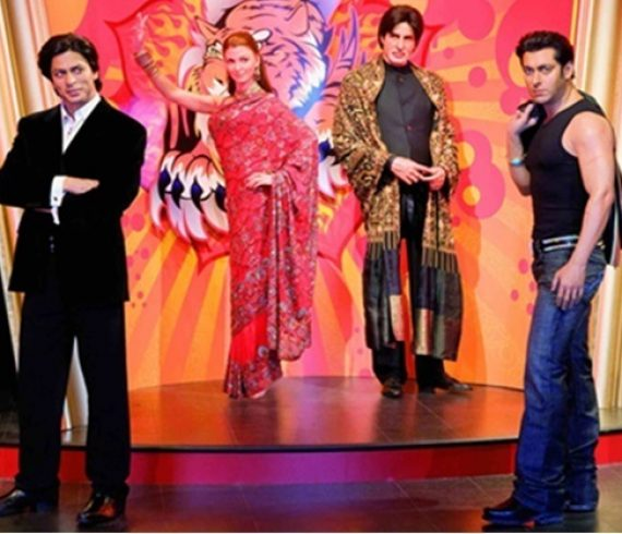 bollywood at madame tussauds