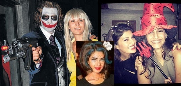 Halloween parties in bollywood