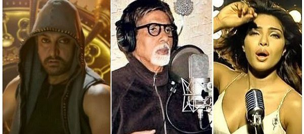 bollywood stars turned singers