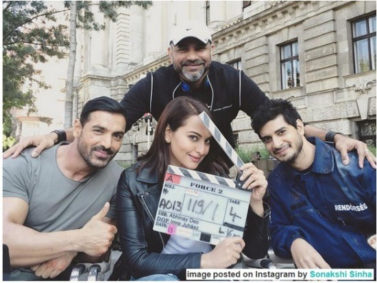 'Force 2' Film Shoot in Budapest