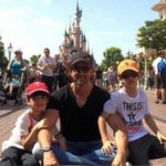 Hrithik Roshan in Disneyland with sons