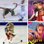 ice skating on bollywood songs