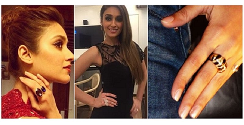 Ileana Dcruz love rings