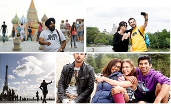 indian tourists abroad