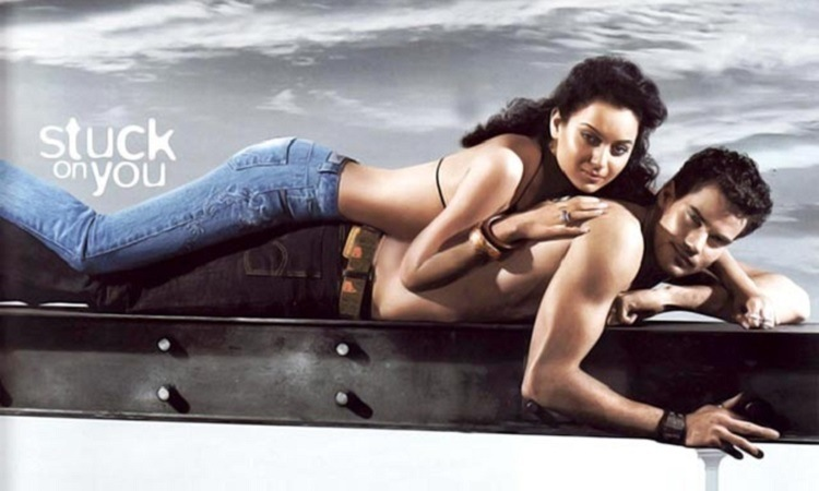 Kangana Ranaut stuck on you ad campaign for Lewis