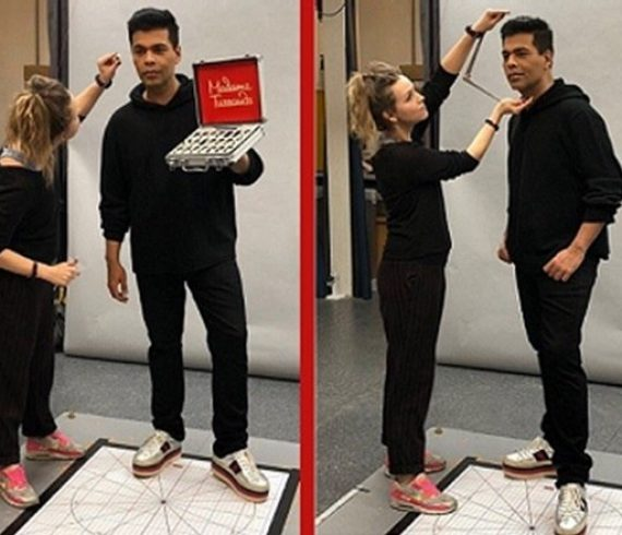 karan johar wax statue at madam tussauds in london