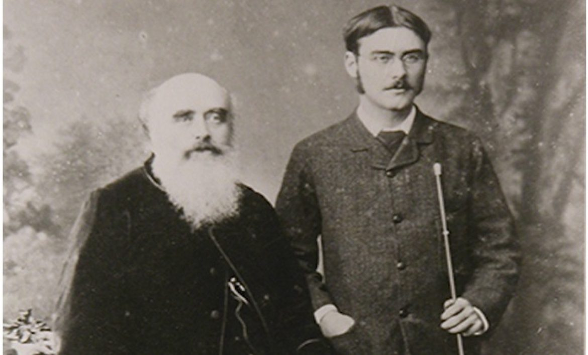 Lockwood Kipling and Rudyard Kipling