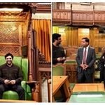 Madhavan in Canadian Parliament (Ottawa)