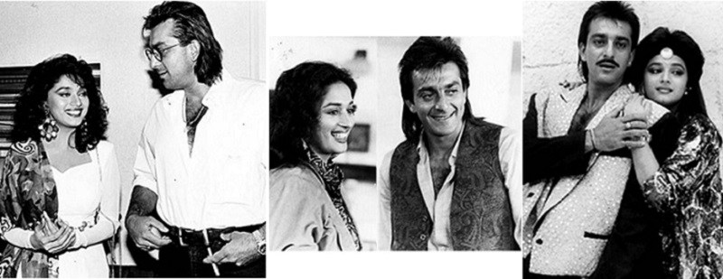 Madhuri Dixit and Sanjay Dutt affair