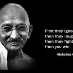 Top Celebrities, World Leaders and Thinkers who were inspired by Mahatma Gandhi