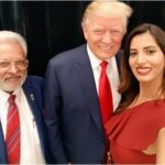 Manasvi Mamgai with Donald Trump