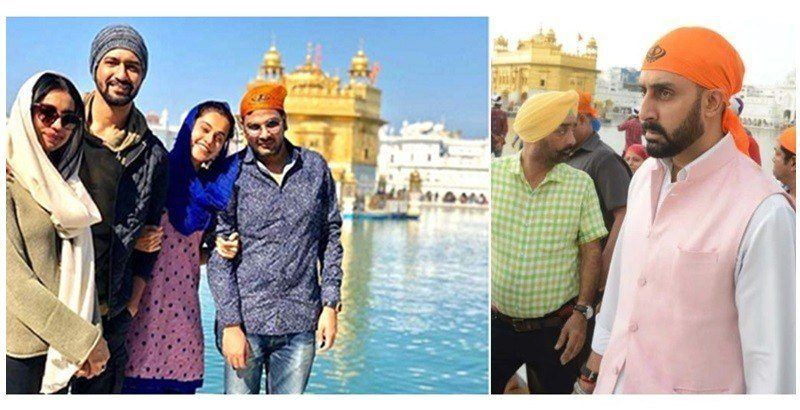 manmarziyan team at golden temple