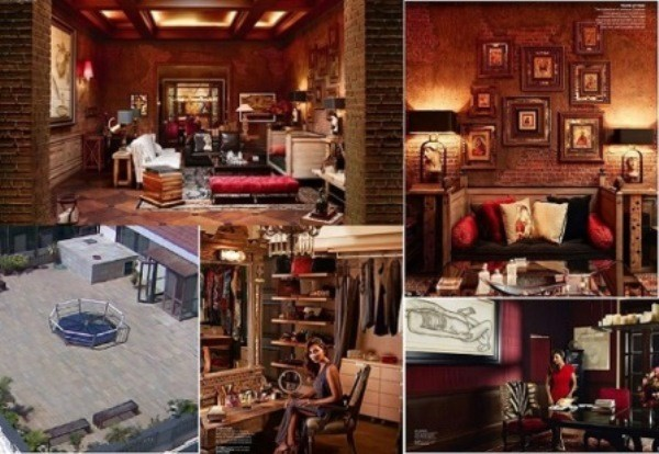 Take a peek into shahrukh khan 39 s 2000cr bungalow mannat Shahrukh khan home inside