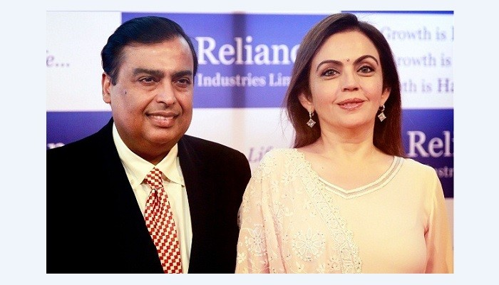 Mukesh and Nita Ambani