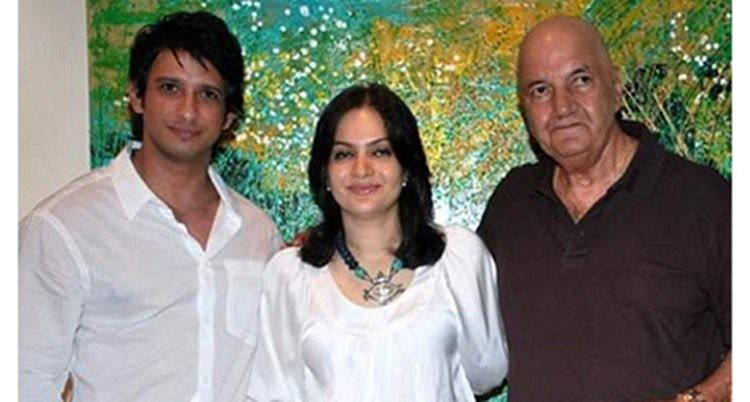 prem chopra with son-in-law sharman joshi