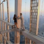 Russian model's daredevil photo shoot on top Dubai skyscraper, likely to face legal action