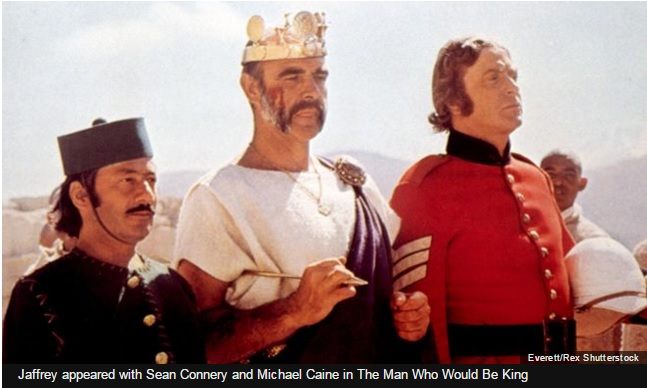 Saeed Jaffrey & Sean Connery in The Man Who Would Be King