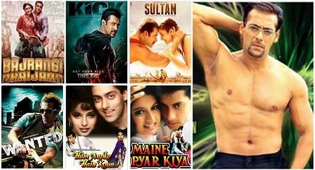 salman khan, hit movies