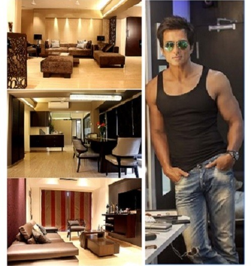 Sonu Sood apartment in Andheri, Mumbai