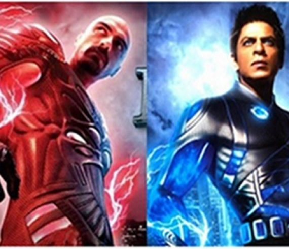 SRK and Arjun Rampal in RA.One