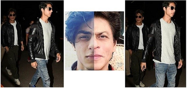 SRK Aryan look like twins