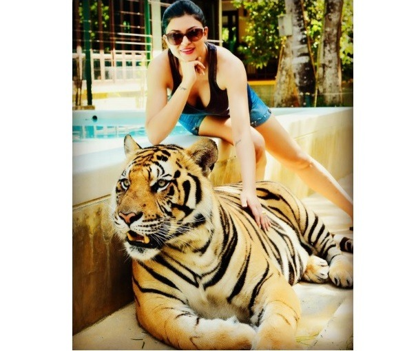 Sushmita Sen Holidaying in Thailand