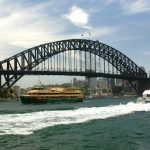 sydney harbour bridge sydney australia