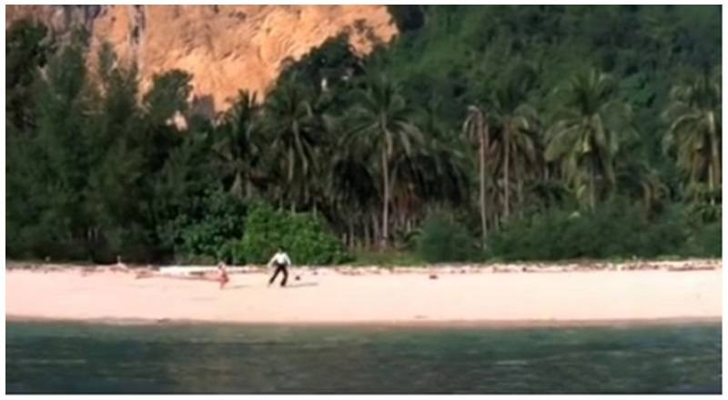 kaho naa pyaar hai song filmed in thailand (krabi)