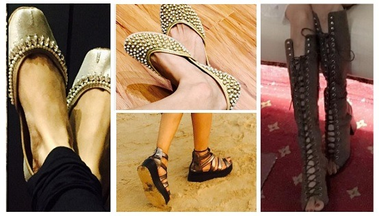 Checkout the enviable footwear collection of these top TV actresses