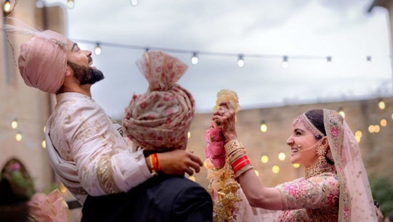Virat Kohli & Anushka Sharma wedding